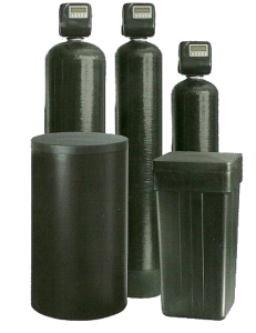 Water softeners for soft water removes iron