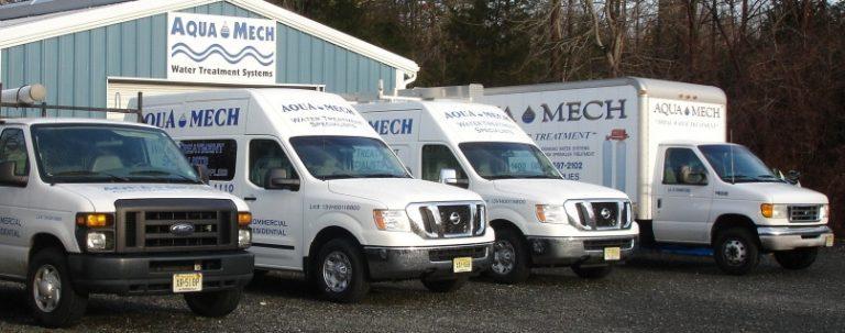 Aqua Mech service trucks