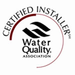 Certified Installer Water Quality Association