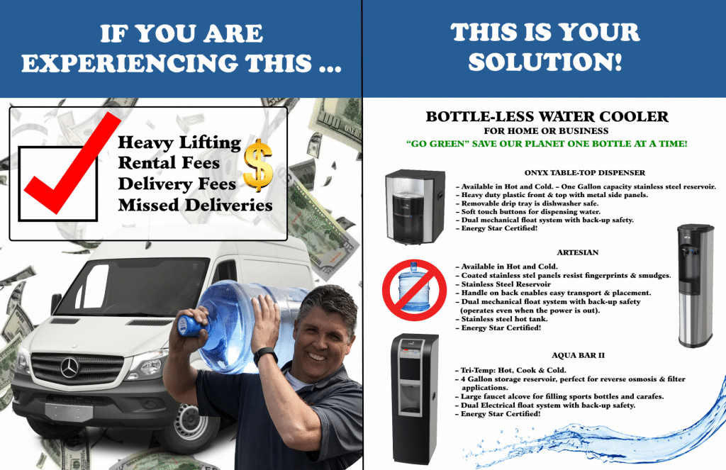 Replace Bottled Water Delivery