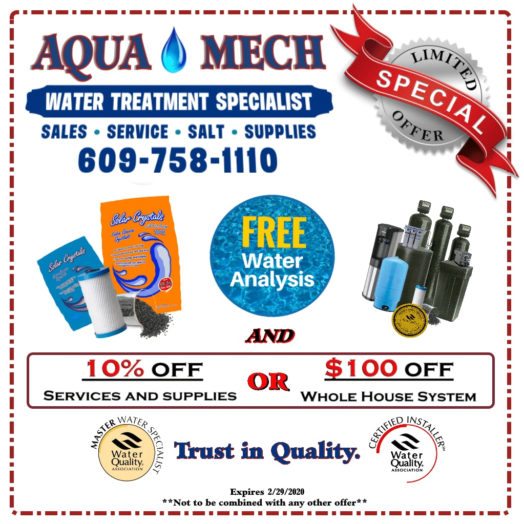 water treatment coupon
